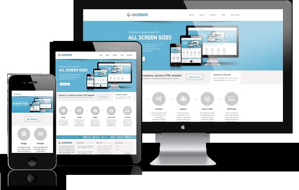 web-design hjemmeside