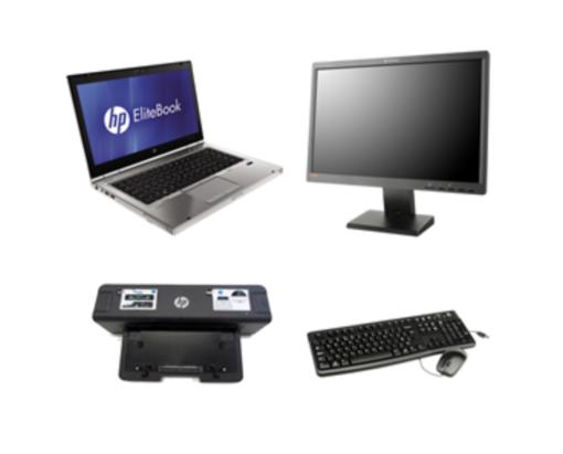 Brugt HP EliteBook 8460p Kontorpakke hos Torp IT