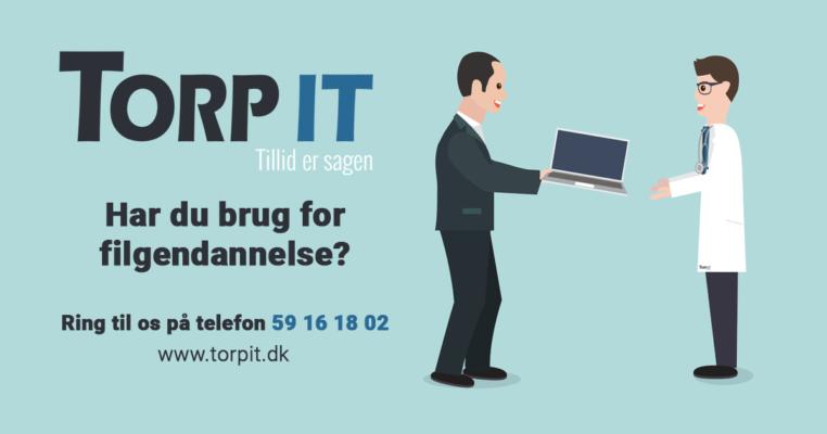 Filgendannelse hos Torp-IT - Ring på tlf. 59 16 18 02